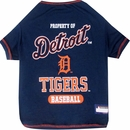 Detroit Tigers Dog Tee Shirts