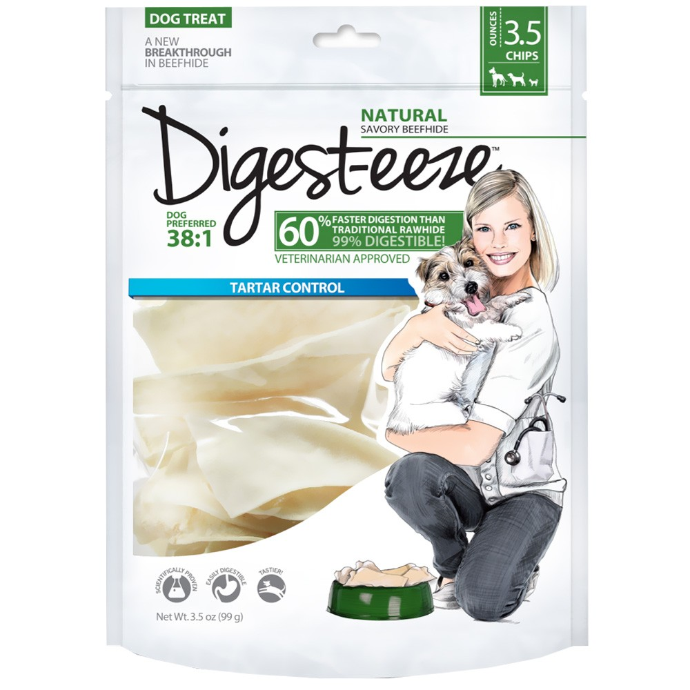 Digest-eeze Rawhide Chips (3.5 oz)