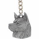 Rawcliffe pewter dog keychains for prizes