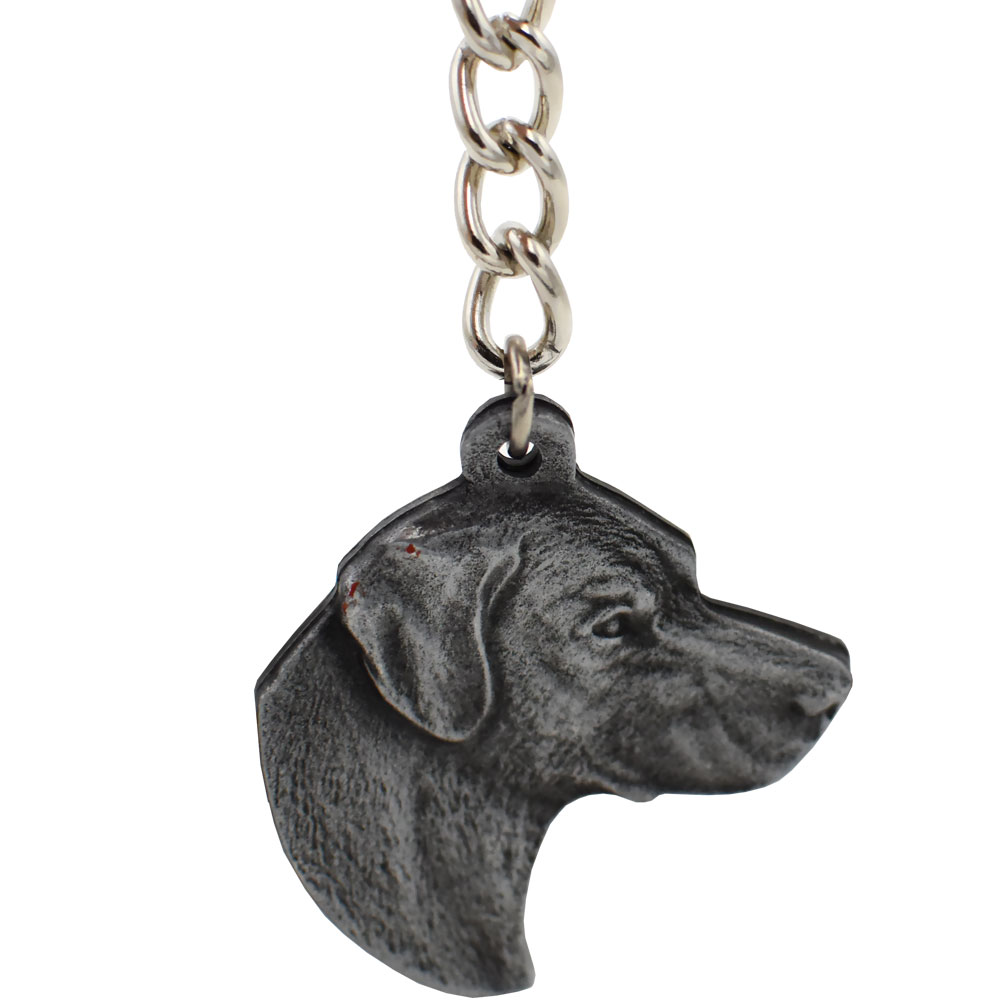 Displaying images for vicious dog breeds list - Dog Breed Keychain Usa Pewter Labrador Retriever 2 5