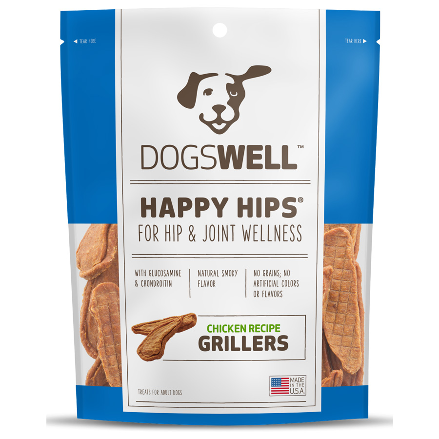 Dogswell Happy Hips Grillers - Chicken Recipe (15 oz)