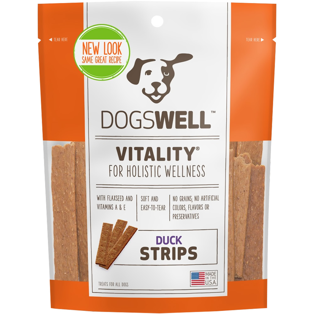 Dogswell Vitality Strips - Duck (5 oz)