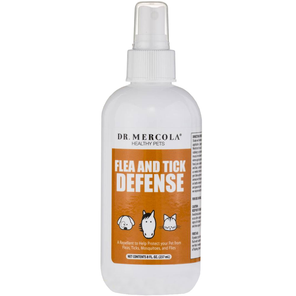 Dr. Mercola Flea & Tick Defense for Cats & Dogs (8 oz)