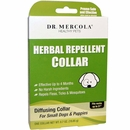 "Dr. Mercola Herbal Repellent Collar for Small Dogs & Puppies (Fits necks up to 21"")"