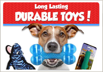 Durable Long-lasting Pet Toys!