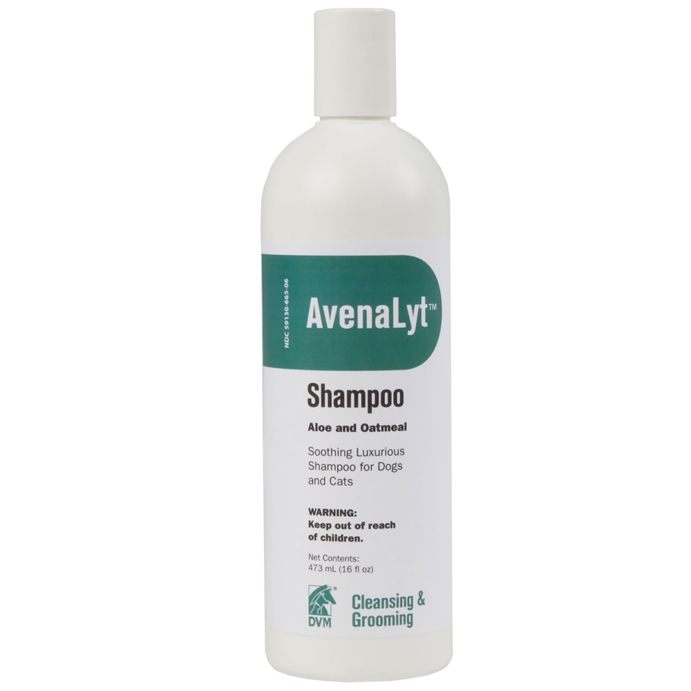 DVM Avenalyt Aloe and Oatmeal Shampoo (16 oz)