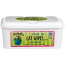 Earthbath Green Tea Cat Wipes (100 wipes)