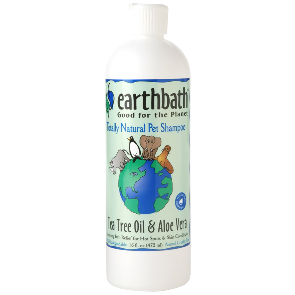Earthbath Tea Tree Oil & Aloe Vera Shampoo (16 fl. oz.)