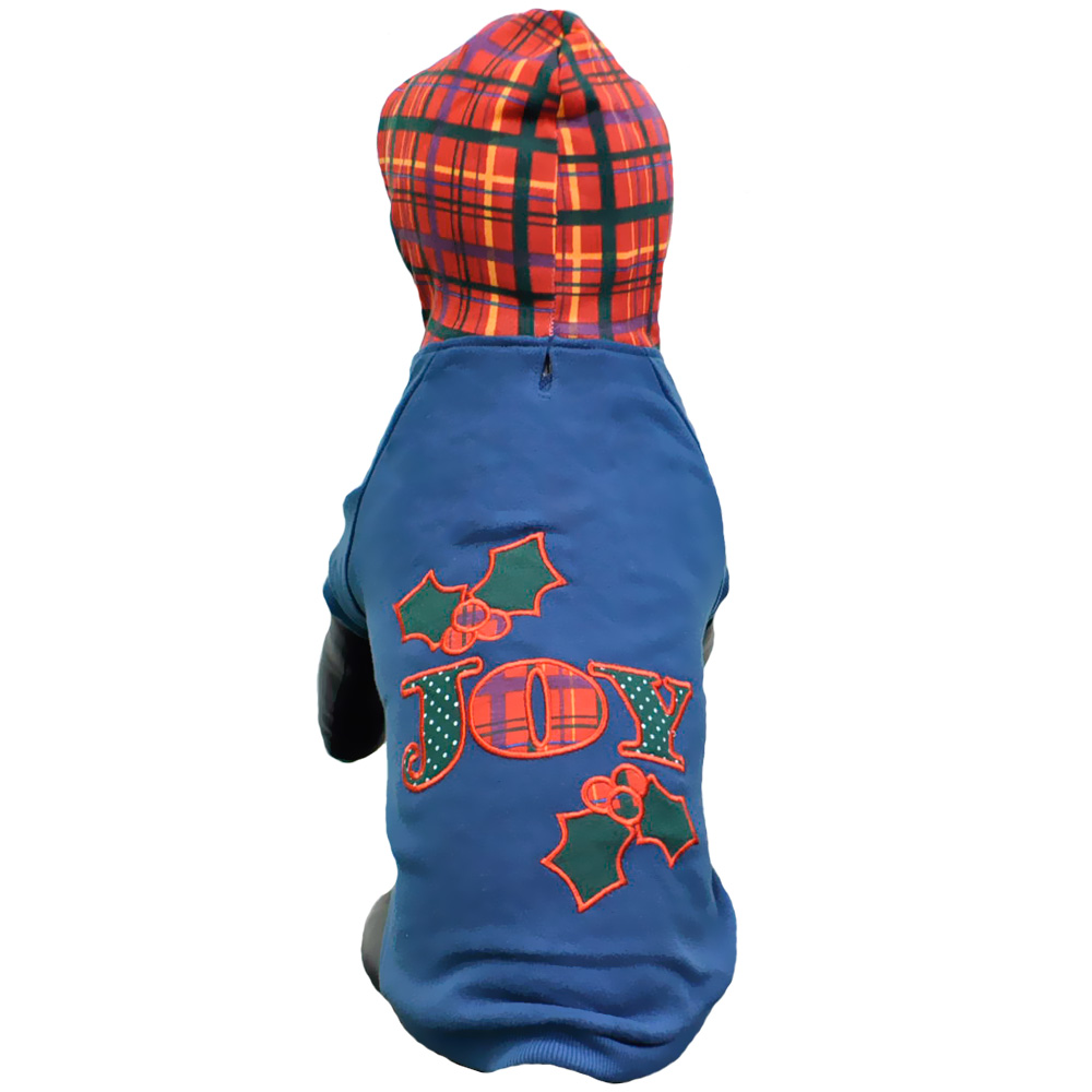 East Side Collection Holly Days Joy Hoodie - Small