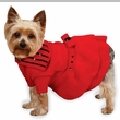 """East Side Collection Scarlet Knit Dresses Red - M (16"""")"""