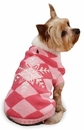 "East Side Collection Snowflake Snuggler Sweaters Pink - XS (10"")"