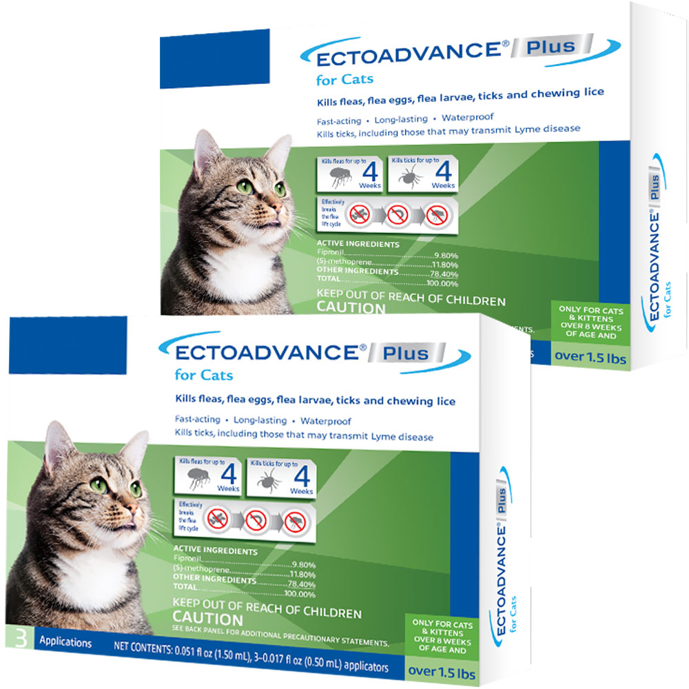 EctoAdvance Plus for Cats (6 Doses)