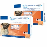 EctoAdvance Plus for Dogs 4-22 lbs (6 Doses)