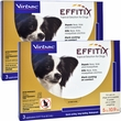 Effitix Topical solution for Dogs 5-10.9 lbs. - 6 Months