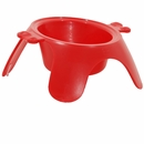 Emanuele Bianchi Yoga Bowl Red - Medium
