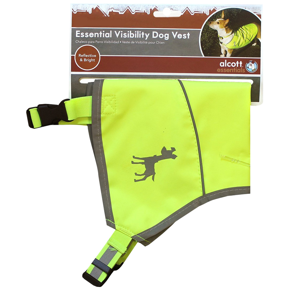 ESSENTIAL-VISIBILITY-DOG-VEST-NEON-YELLOW-MEDIUM