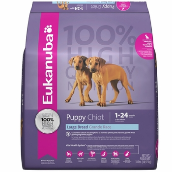 Eukanuba Large Puppy Food Reviews