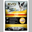 EVO Turkey & Chicken Formula Small Bites Dry Dog Food (28.6 lb)