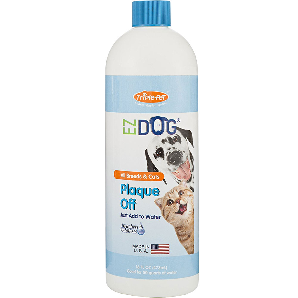 EZ Dog Plaque Off (16 oz)