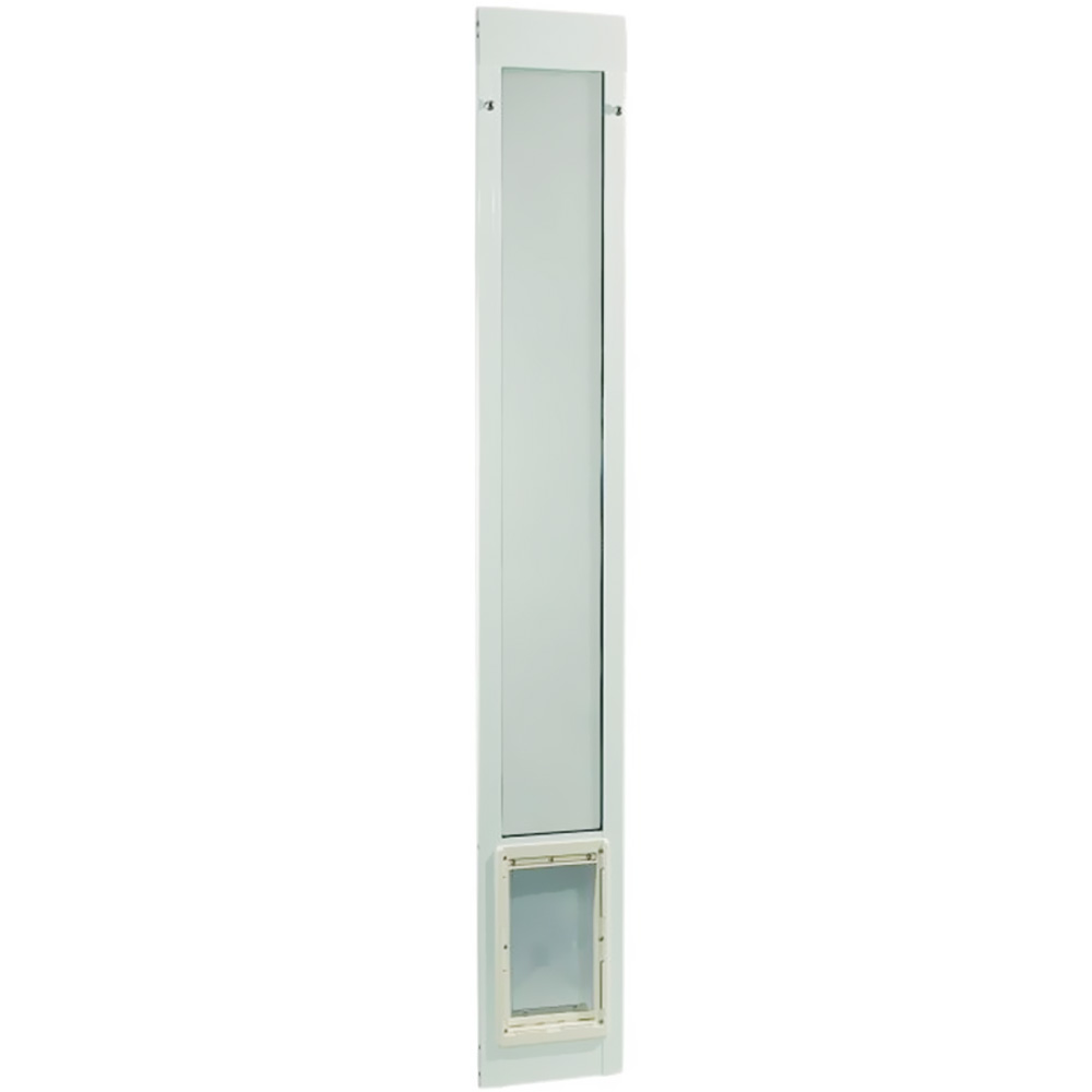 "Fast Fit Pet Patio Door 80"" - Medium (White)"