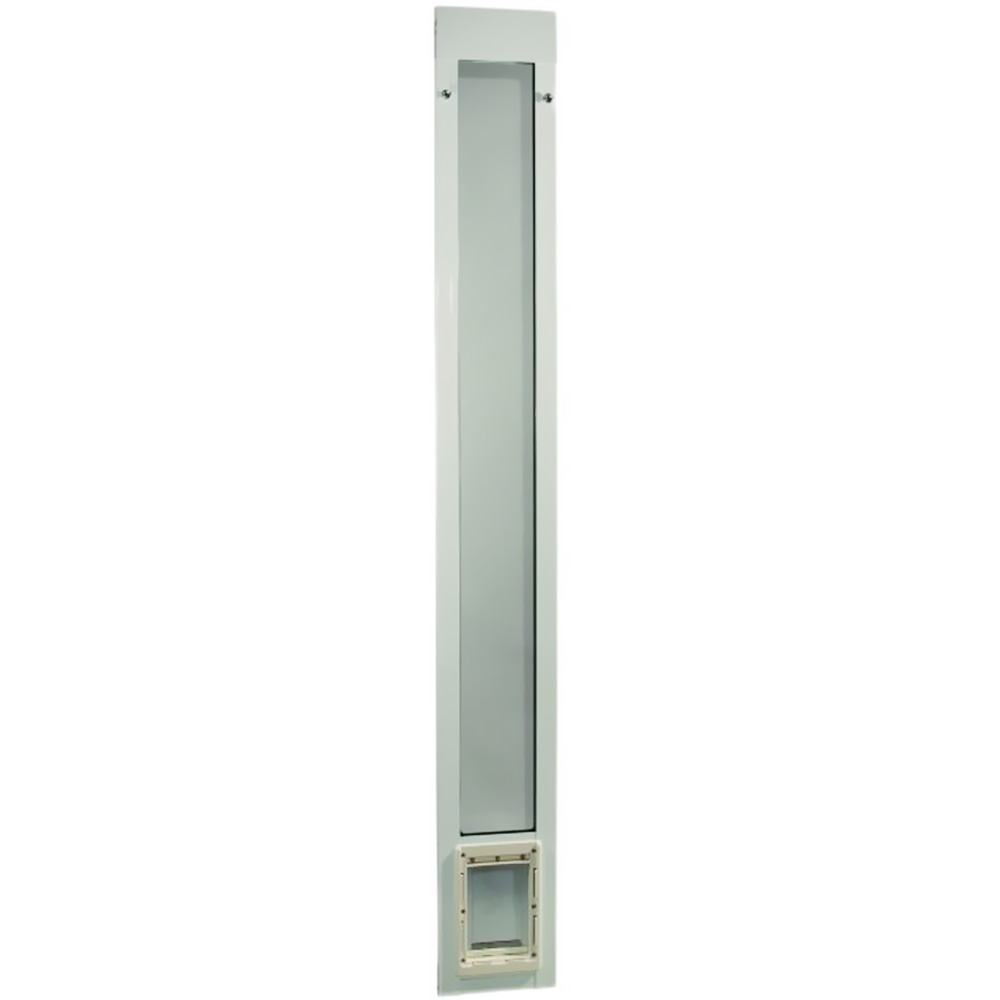 "Fast Fit Pet Patio Door 80"" - Small (White)"