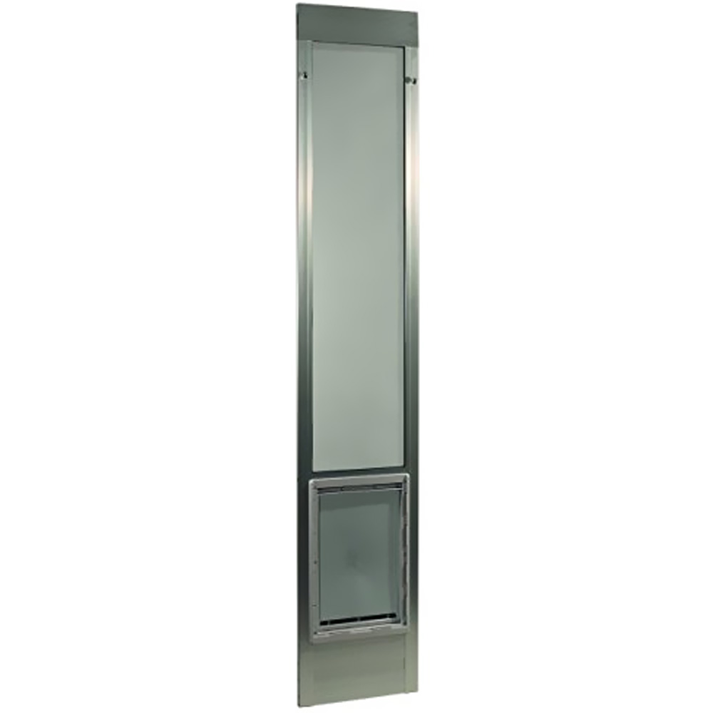 "Fast Fit Pet Patio Door 80"" - Super Large (Mill)"