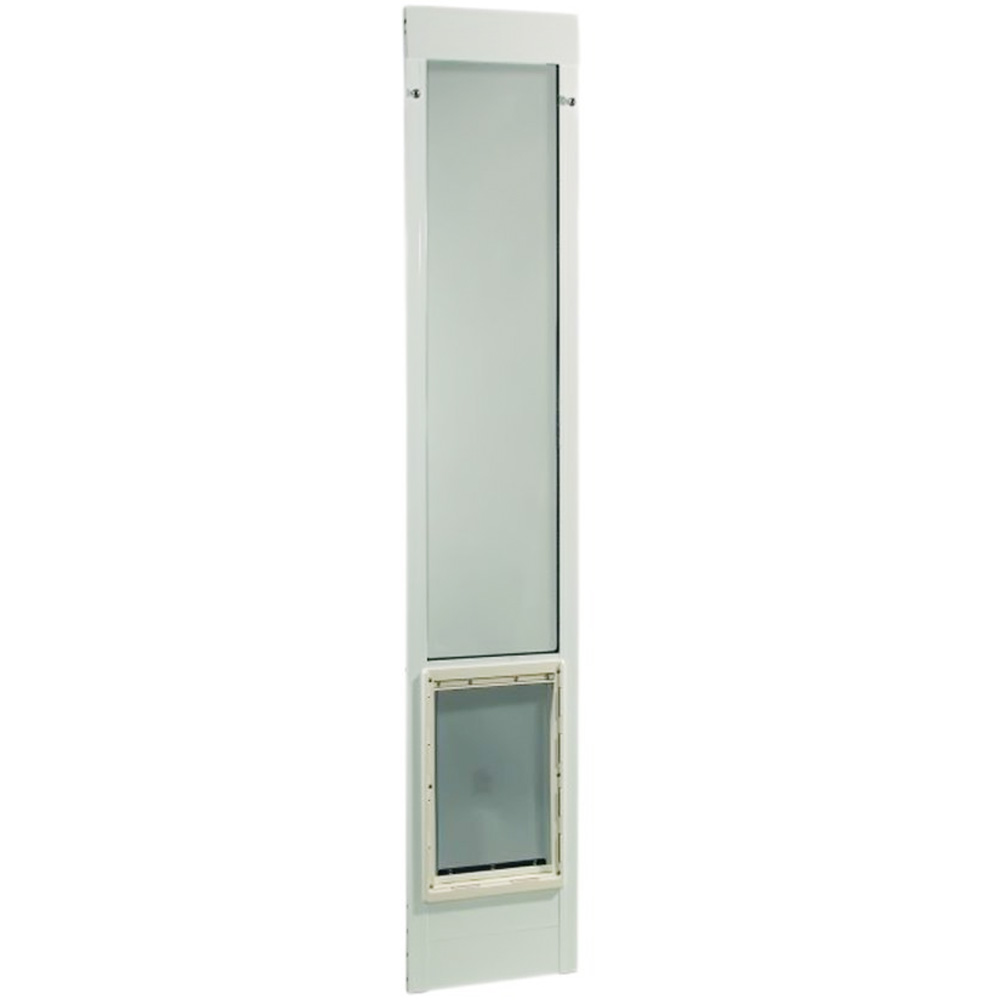 "Fast Fit Pet Patio Door 80"" - Super Large (White)"
