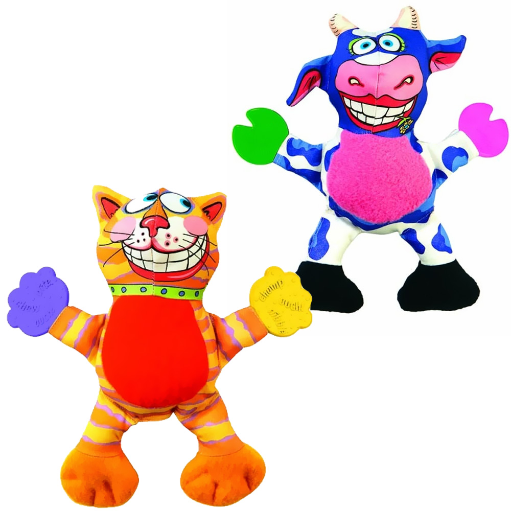 Fat Toy Dogs : Fat cat mini puppy teethers