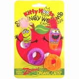 Fat Cat Springy Worms Catnip Toy