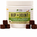 Fera Pet Organics Hip + Joint Supplement for Dogs (90 Soft Chews)