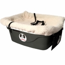 "FidoRido Pet Car Seat - Beige (24""x18x10"")"