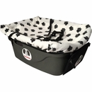 "FidoRido Pet Car Seat - White/Black (24""x18x10"")"