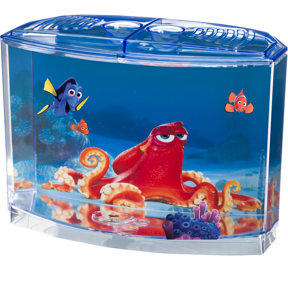Finding Dory Betta Aquarium Tank Kit (0.5 Gallon)