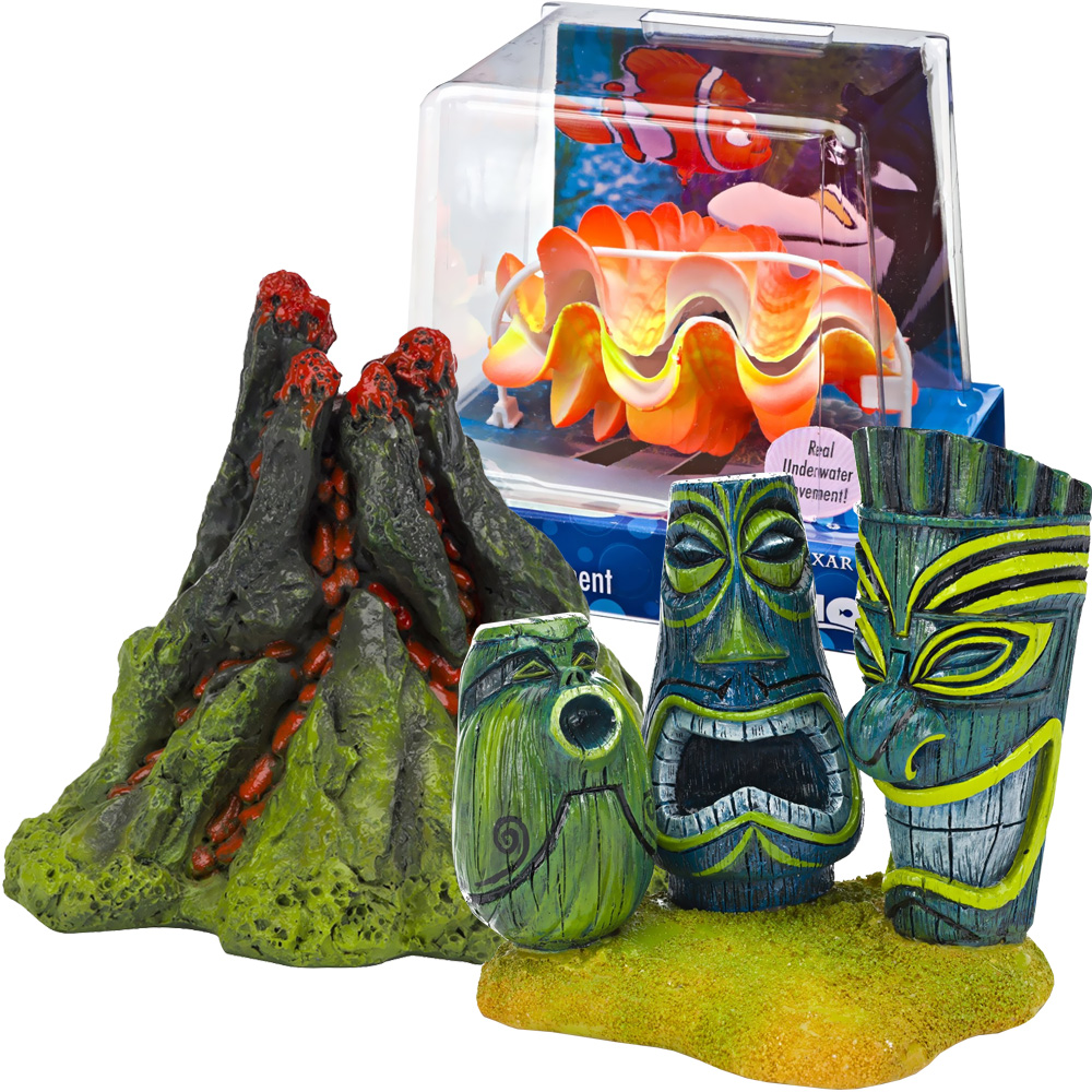 Finding nemo dentist aquarium d cor set for Aquarium decoration set