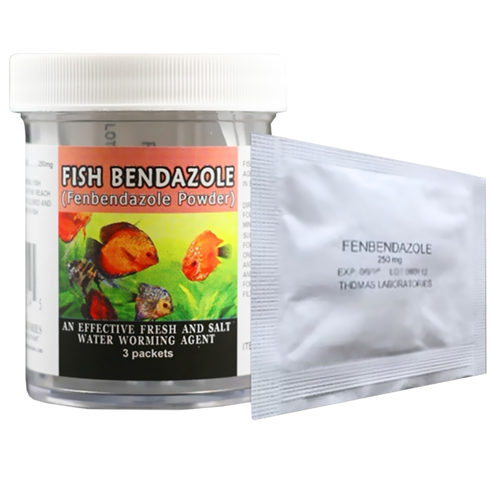 Fish Bendazole 250mg - Fenbendazole Powder (3 packets)