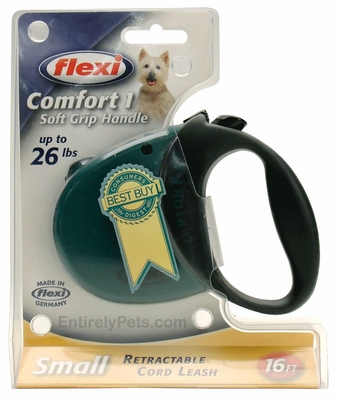 Flexi Comfort 1 Retractable CORD Leash for Dogs up to 26 lbs.