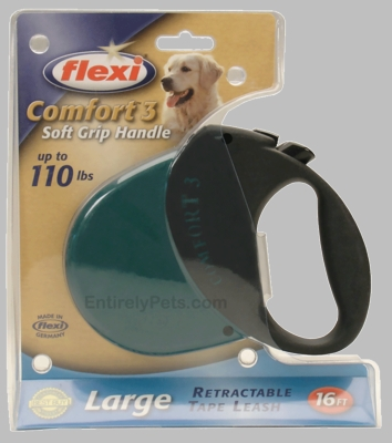 Flexi Comfort 3 Retractable TAPE Leash for Dogs up to 110 lbs