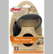 Flexi Freedom Cord Retractable Leash - Small 26 lbs. - Black/Black 16 ft.
