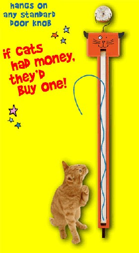 Fling-ama-String Cat Toy