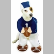 Football Fever Dog Costume - XSMALL