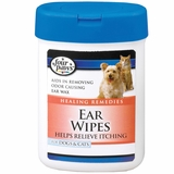 Four Paws Ear Wipes for Dogs & Cats (25 Wipes)