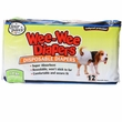 Four Paws Wee-Wee Dog Diapers Large (12 diapers)
