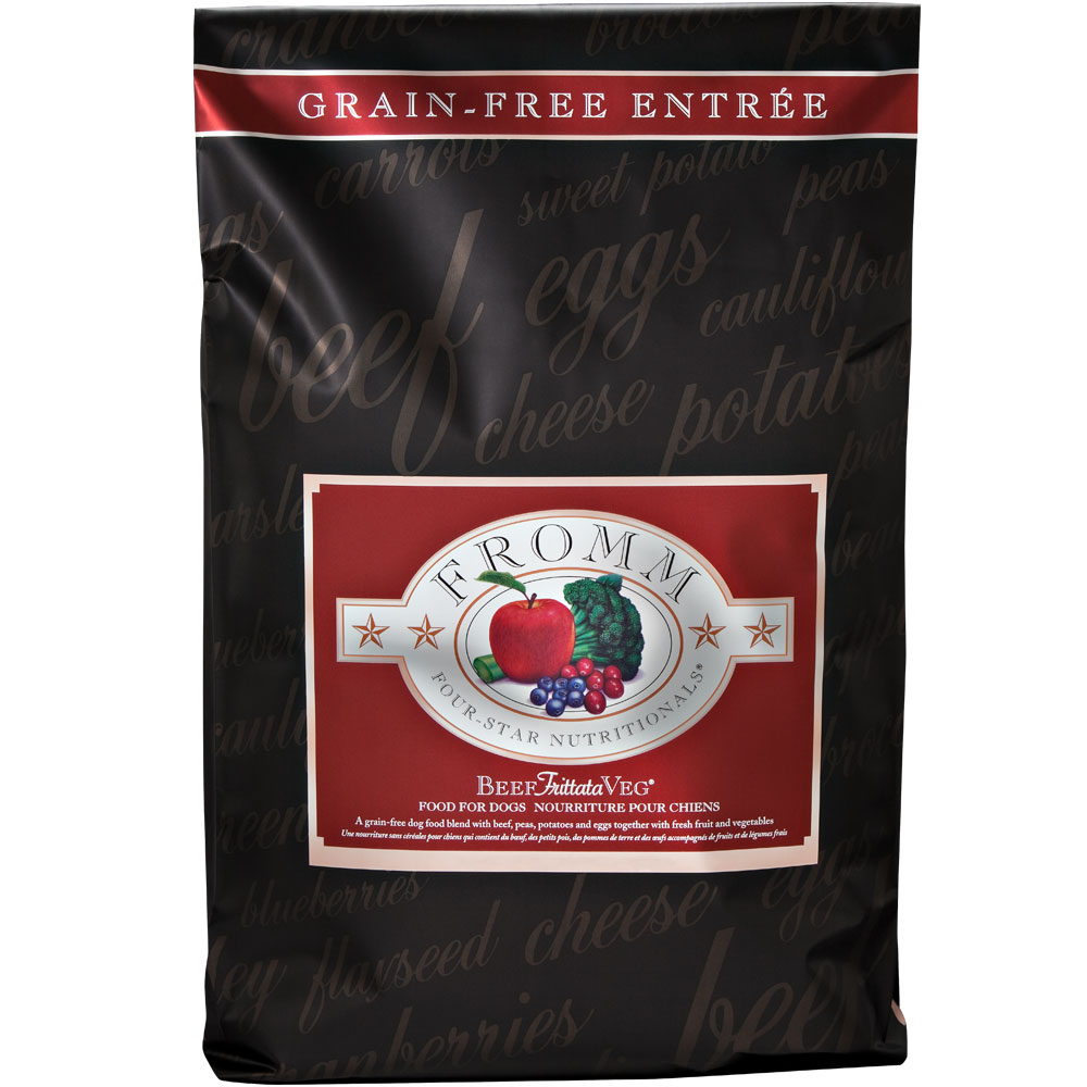 Fromm Four-Star Dog Food - Beef Frittata Veg (30 lb)