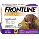 Frontline GOLD for Dogs 45-88 lbs - PURPLE (6 MONTH)