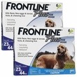 Frontline Plus for Dogs 23-44 lbs - BLUE, 12 MONTH