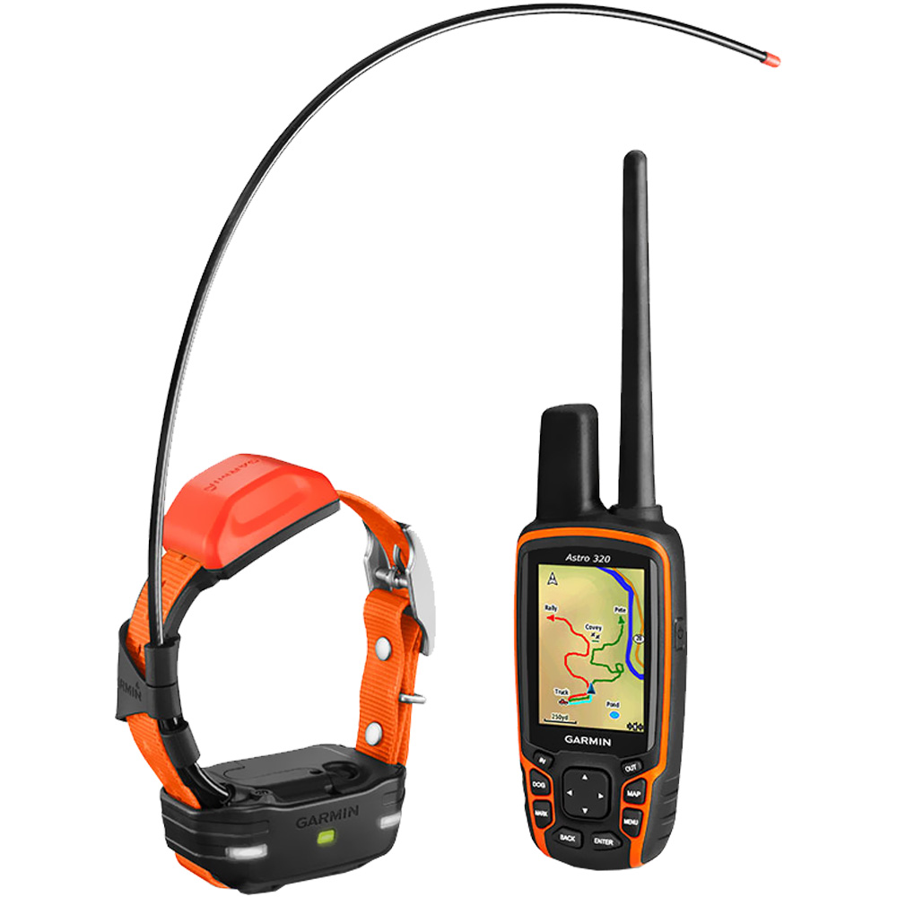 Garmin Astro 320/Mini T 5 Dog GPS Tracking Bundle - Orange