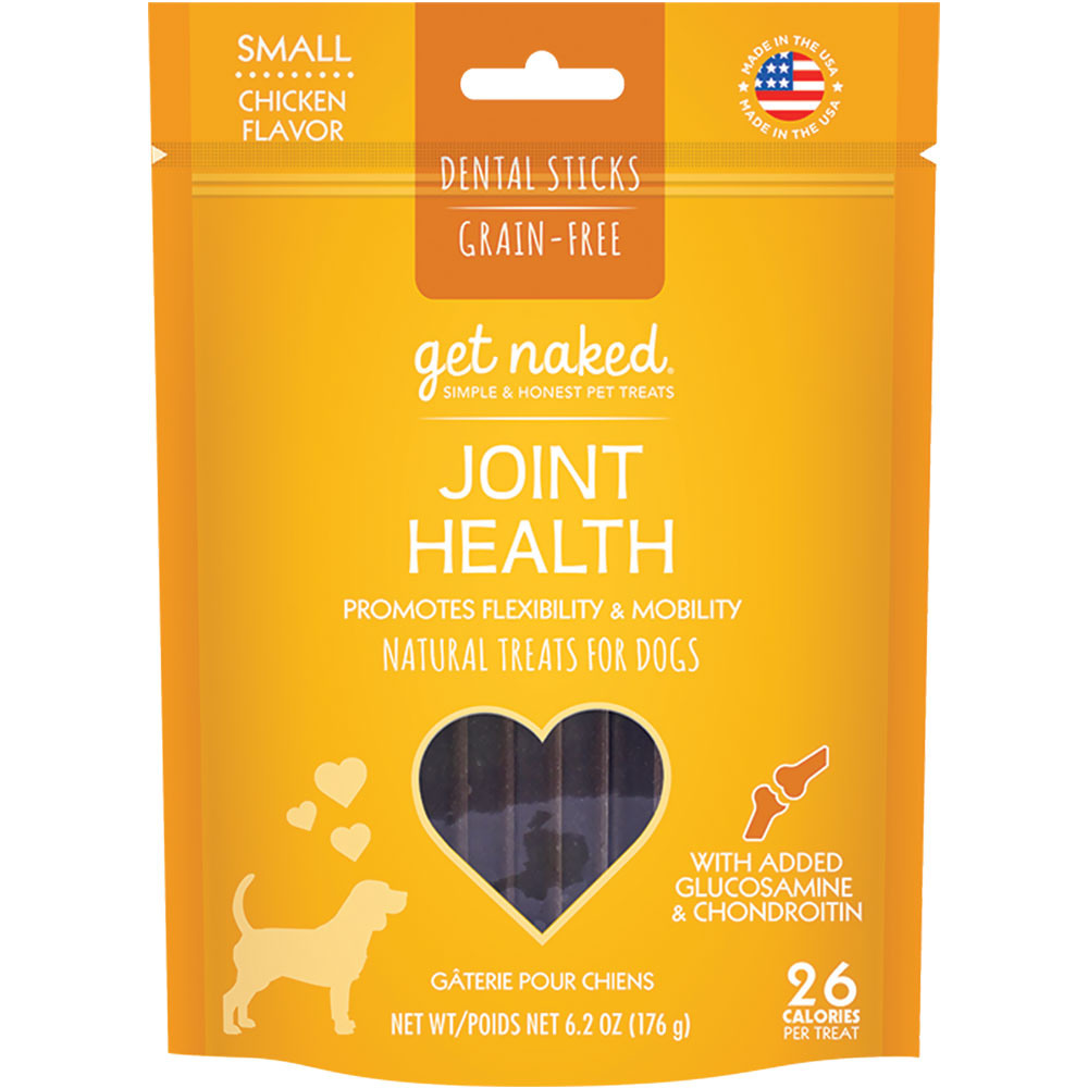 Get Naked Joint Health Treats for Dogs Small (6.2 oz)