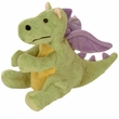 GoDog Dragon with Chew Guard - Lime Green