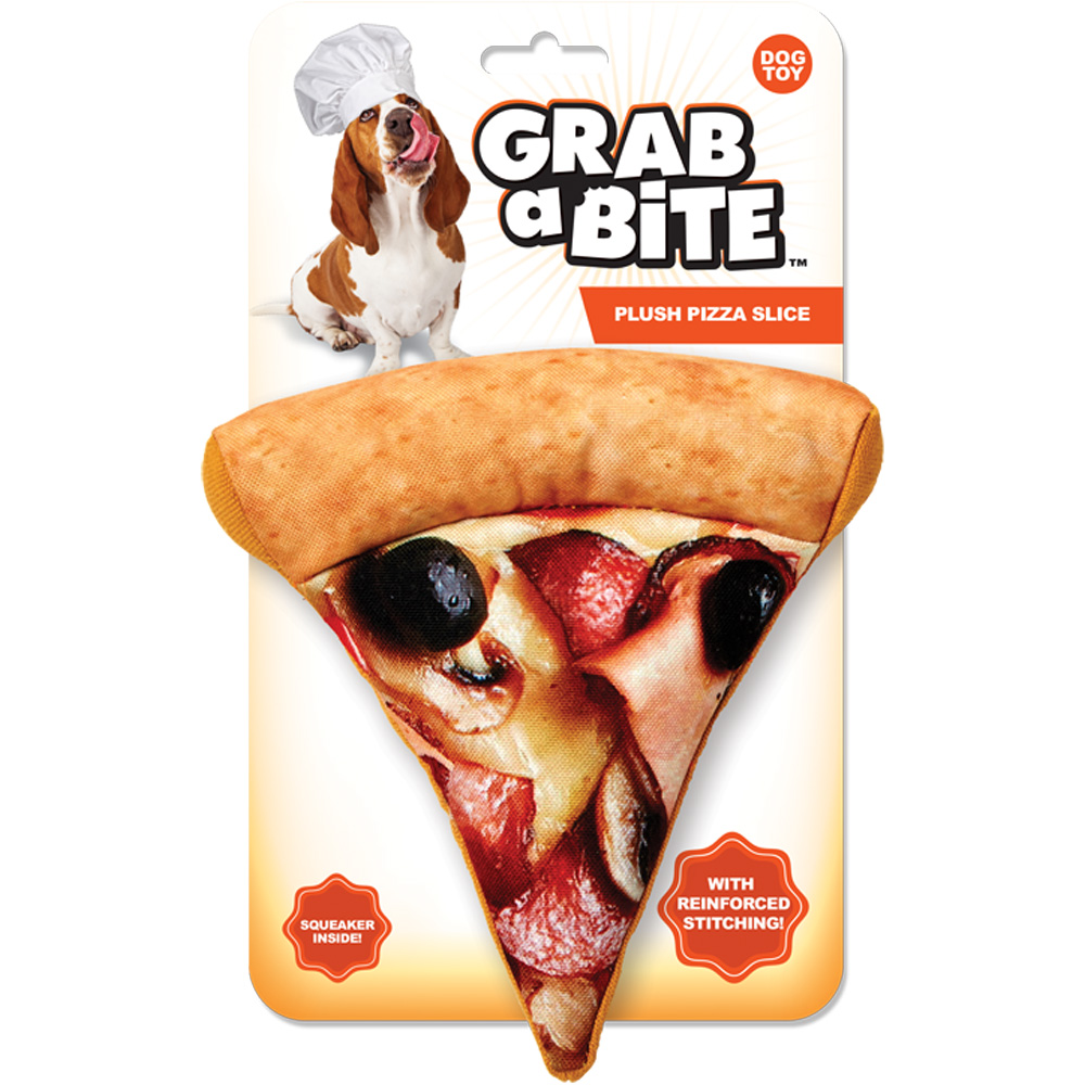 Grab-a-Bite - Plush Pizza Slice
