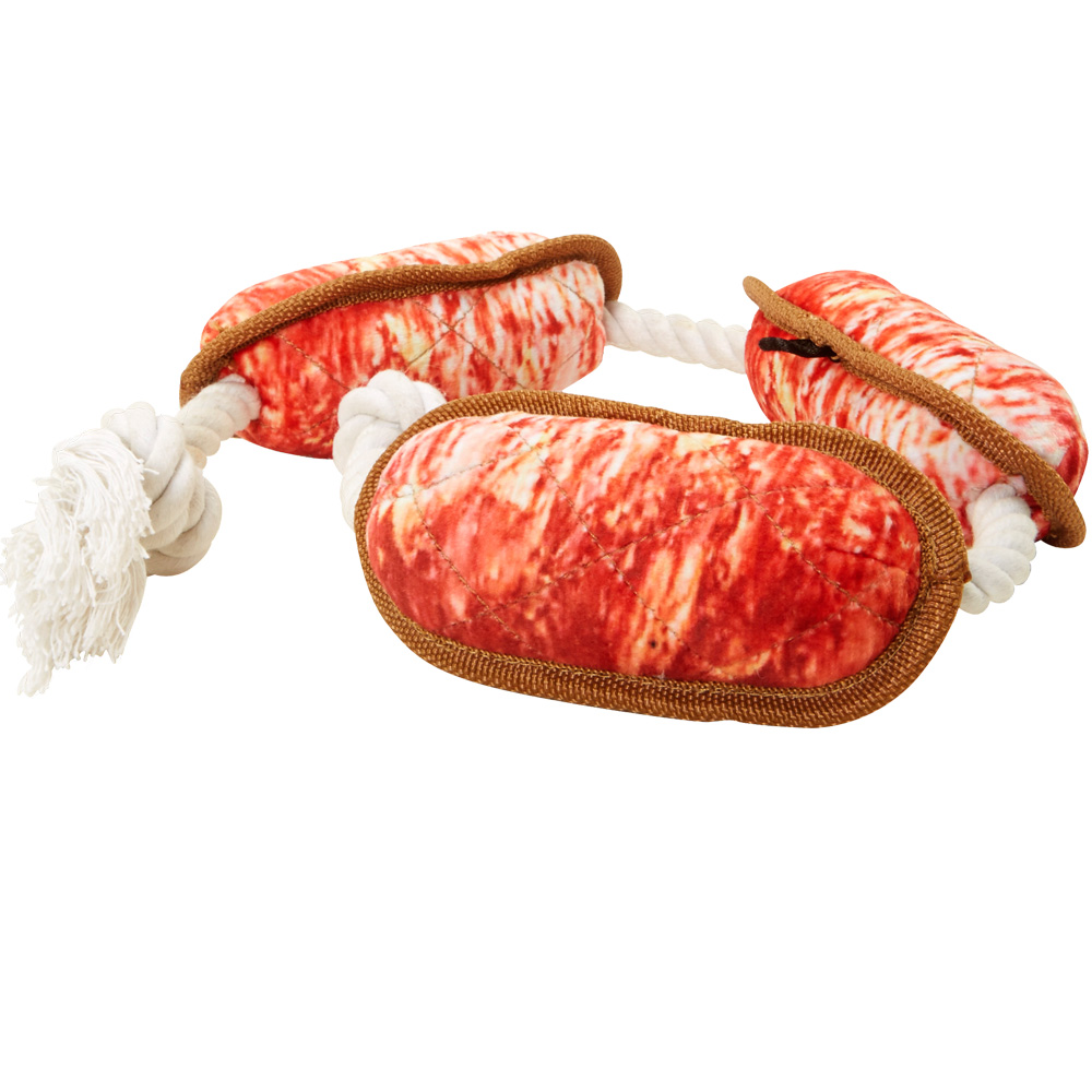 Grab-a-Bite - Plush Rope Sausage